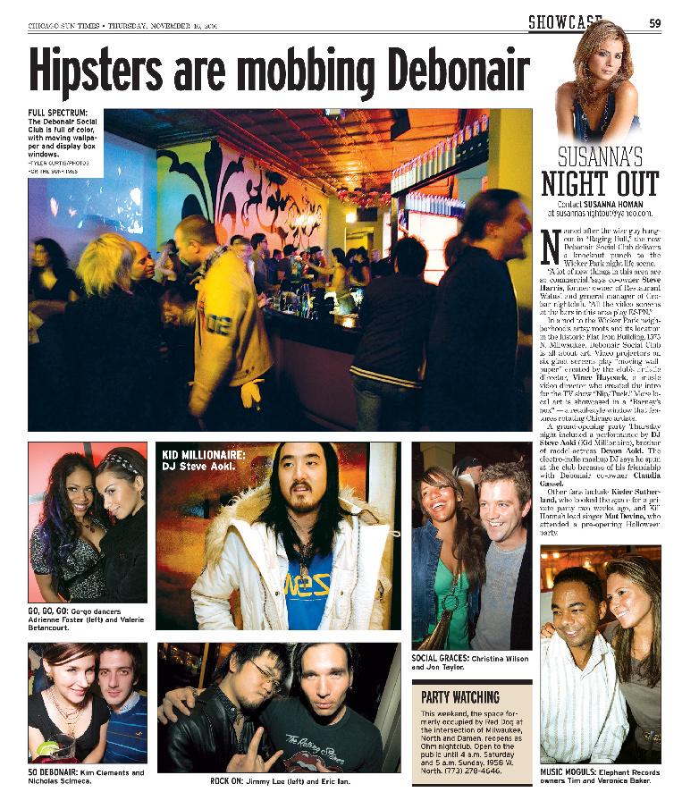 Hipsters Mobbing Debonair