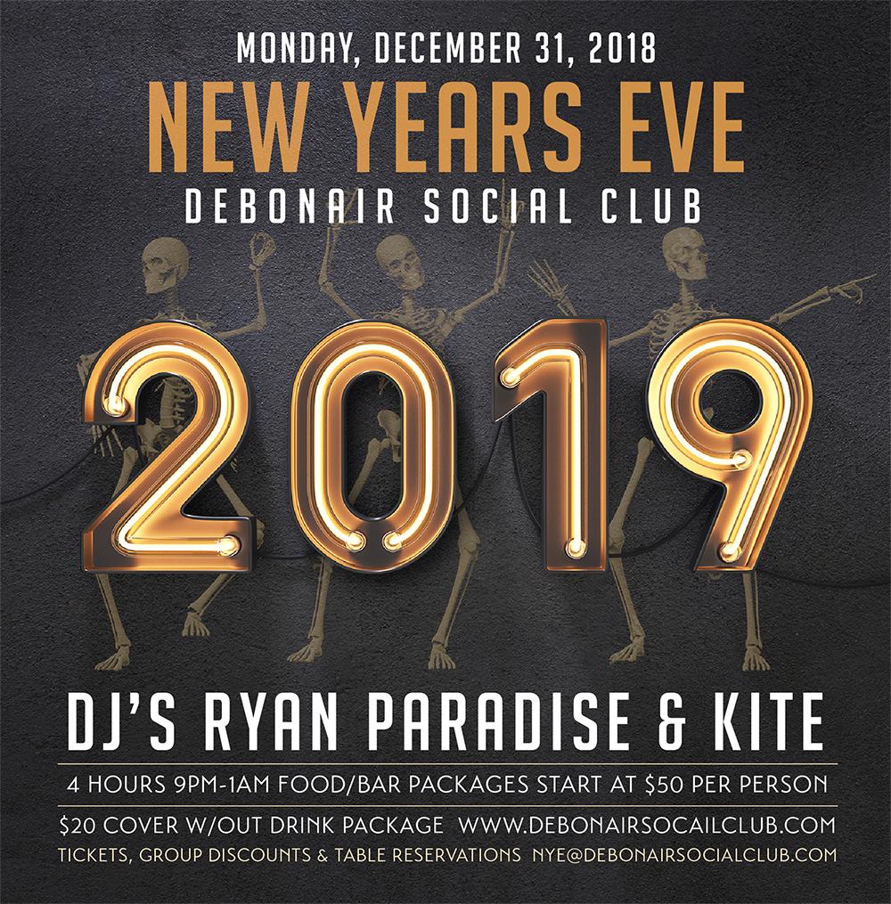 Debonair New Years2 Eve 2019 copy